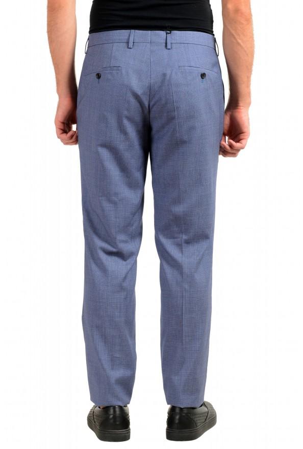 """Hugo Boss Men's """"Genesis4"""" Extra Slim 100% Wool Blue Dress Pants: Picture 3"""