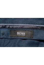 """Hugo Boss Men's """"Genesis4"""" Extra Slim 100% Wool Blue Dress Pants: Picture 5"""
