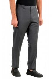 "Hugo Boss Men's ""Genesis2"" Slim Fit Gray 100% Wool Dress Pants: Picture 2"
