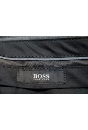 "Hugo Boss Men's ""Genesis2"" Slim Fit Gray 100% Wool Dress Pants: Picture 5"