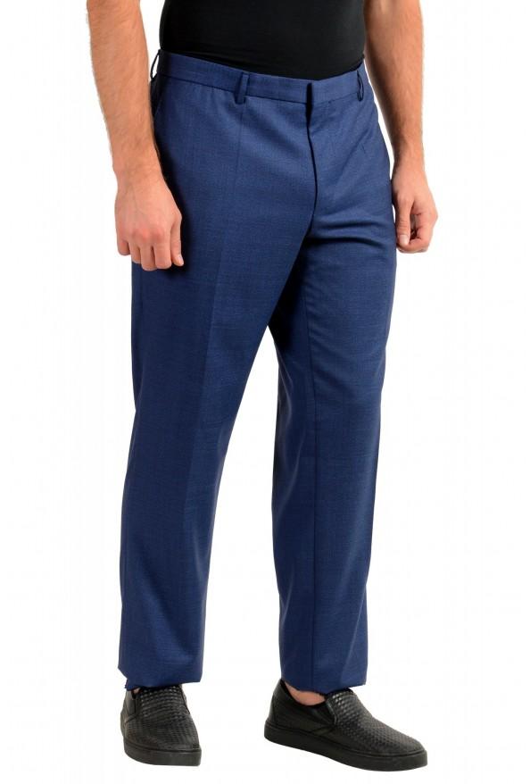 "Hugo Boss Men's ""Novan5/Ben2"" Slim Fit Blue 100% Wool Dress Pants: Picture 2"