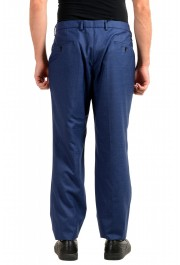 "Hugo Boss Men's ""Novan5/Ben2"" Slim Fit Blue 100% Wool Dress Pants: Picture 3"