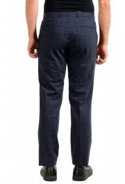 "Hugo Boss Men's ""Simmons182"" Regular Fit Plaid Wool Flat Front Dress Pants: Picture 3"