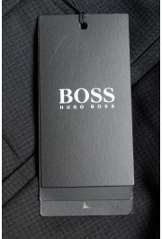"Hugo Boss Men's ""Leanon1"" Regular Fit Plaid 100% Wool Flat Front Dress Pants: Picture 4"