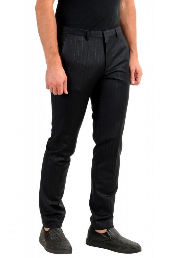 "Hugo Boss Men's ""Arti-Hesten193"" Extra Slim Fit Wool Striped Dress Pants: Picture 2"