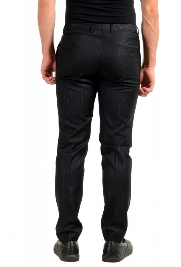"Hugo Boss Men's ""Arti-Hesten193"" Extra Slim Fit Wool Striped Dress Pants: Picture 3"