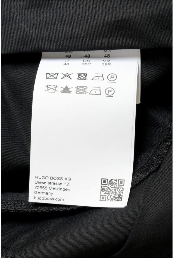 "Hugo Boss Men's ""Arti-Hesten193"" Extra Slim Fit Wool Striped Dress Pants: Picture 4"