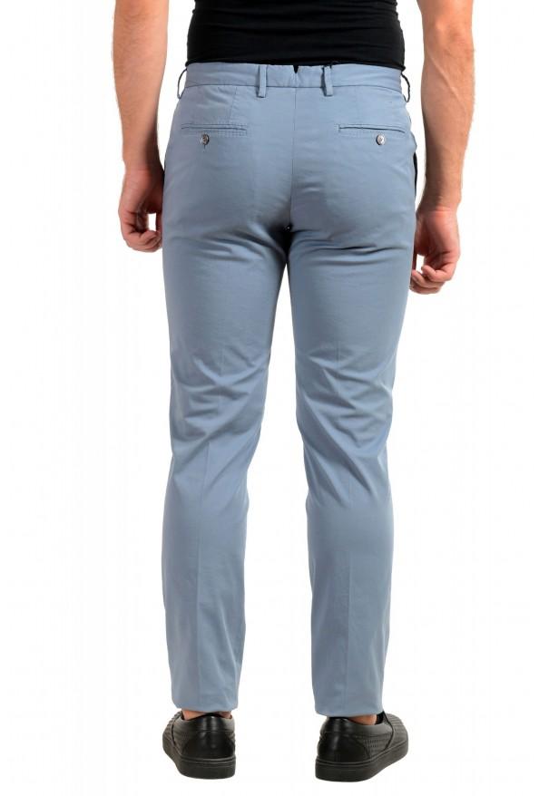 "Hugo Boss Men's ""Barlow-D"" Blue Flat Front Casual Pants: Picture 3"