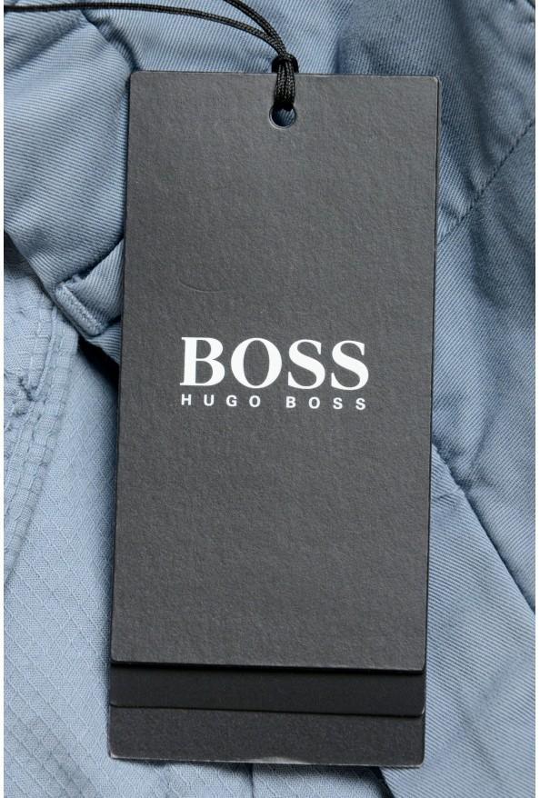 "Hugo Boss Men's ""Barlow-D"" Blue Flat Front Casual Pants: Picture 4"