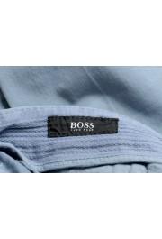 "Hugo Boss Men's ""Barlow-D"" Blue Flat Front Casual Pants: Picture 5"