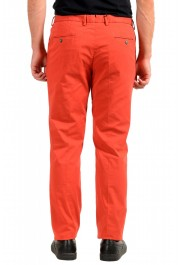 """Hugo Boss Men's """"Barlow-D"""" Coral Red Flat Front Casual Pants: Picture 3"""