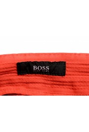 """Hugo Boss Men's """"Barlow-D"""" Coral Red Flat Front Casual Pants: Picture 5"""