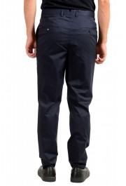 "Hugo Boss Men's ""Hening182"" Navy Blue Flat Front Dress Pants: Picture 3"