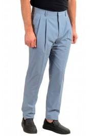 """Hugo Boss Men's """"Orville"""" Light Blue Pleated Pants: Picture 2"""