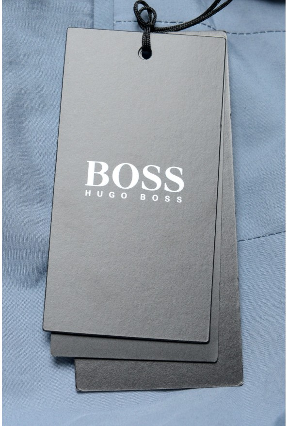 """Hugo Boss Men's """"Orville"""" Light Blue Pleated Pants: Picture 4"""