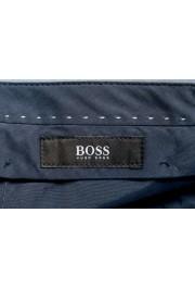 """Hugo Boss Men's """"Orville"""" Light Blue Pleated Pants: Picture 5"""