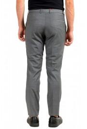 "Hugo Boss Men's ""Hesten194"" Gray Plaid Wool Dress Pants: Picture 3"