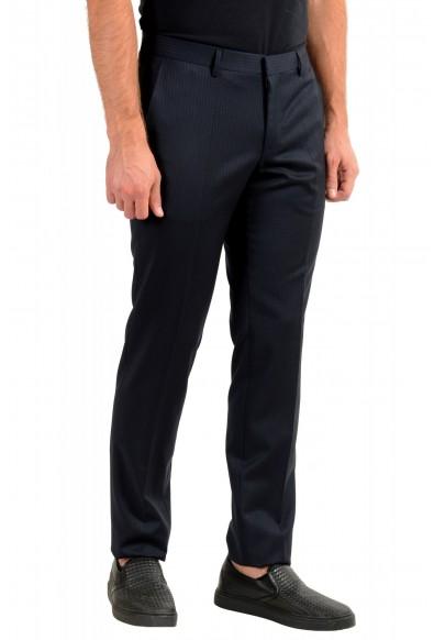 "Hugo Boss Men's ""Getlin182"" Slim Fit Striped 100% Wool Dress Pants: Picture 2"