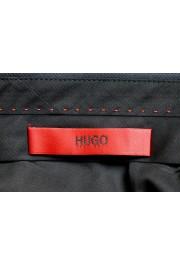 "Hugo Boss Men's ""Getlin182"" Slim Fit Striped 100% Wool Dress Pants: Picture 5"