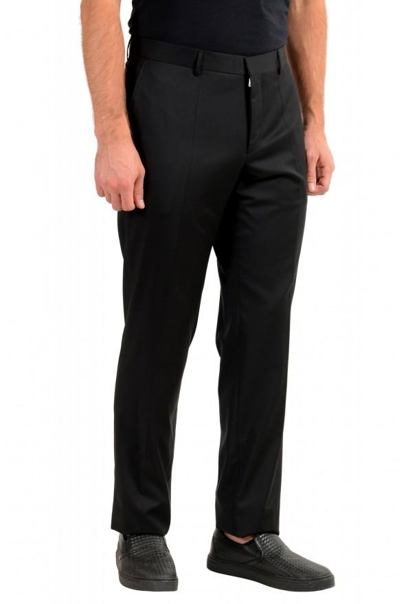 "Hugo Boss Men's ""T-Glover1 GSU"" Black 100% Wool Dress Pants: Picture 2"