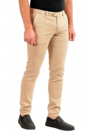 """Hugo Boss Men's """"Kaito1-Der-W2"""" Beige Flat Front Casual Pants: Picture 2"""