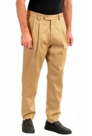 "Hugo Boss Men's ""Pillip1"" Beige ""Fashion Fit"" Pleated Casual Pants: Picture 2"