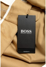 "Hugo Boss Men's ""Pillip1"" Beige ""Fashion Fit"" Pleated Casual Pants: Picture 4"