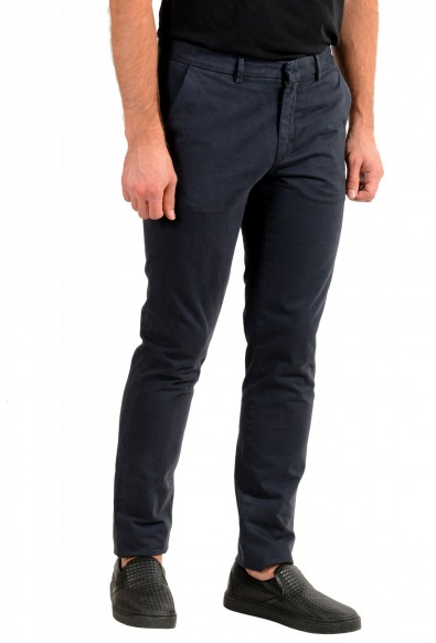 """Hugo Boss Men's """"Kaito1"""" Washed Blue Flat Front Casual Pants: Picture 2"""
