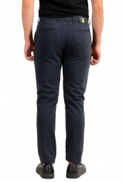 """Hugo Boss Men's """"Kaito1"""" Washed Blue Flat Front Casual Pants: Picture 3"""