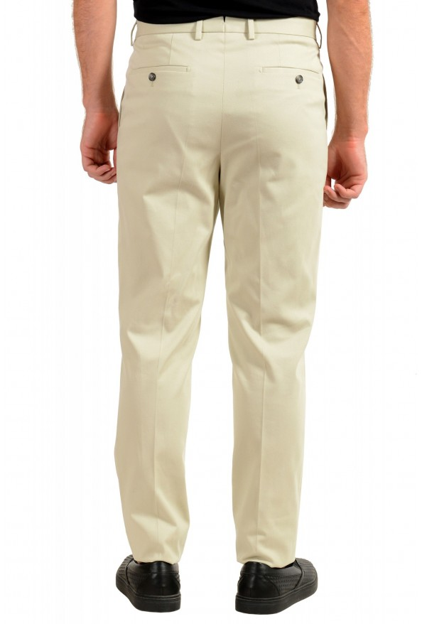 "Hugo Boss Men's ""T-Borden"" Tailored Beige Casual Pants: Picture 3"