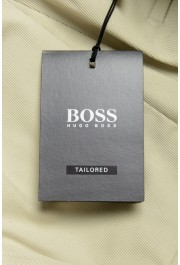 "Hugo Boss Men's ""T-Borden"" Tailored Beige Casual Pants: Picture 4"