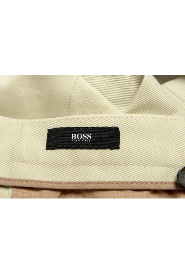 "Hugo Boss Men's ""T-Borden"" Tailored Beige Casual Pants: Picture 5"