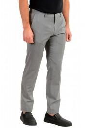 "Hugo Boss Men's ""Genesis2"" Gray Slim Fit 100% Wool Dress Pants: Picture 2"