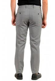 "Hugo Boss Men's ""Genesis2"" Gray Slim Fit 100% Wool Dress Pants: Picture 3"