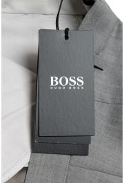 "Hugo Boss Men's ""Genesis2"" Gray Slim Fit 100% Wool Dress Pants: Picture 4"