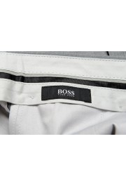 "Hugo Boss Men's ""Genesis2"" Gray Slim Fit 100% Wool Dress Pants: Picture 5"