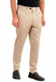 """Hugo Boss Men's """"Hening182"""" Beige Flat Front Pants: Picture 2"""