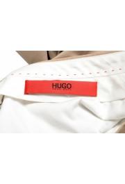 """Hugo Boss Men's """"Hening182"""" Beige Flat Front Pants: Picture 5"""
