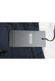 """Hugo Boss Men's """"Kailo-W"""" Blue Flat Front Cargo Casual Pants: Picture 4"""