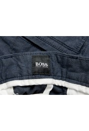 """Hugo Boss Men's """"Kailo-W"""" Blue Flat Front Cargo Casual Pants: Picture 5"""