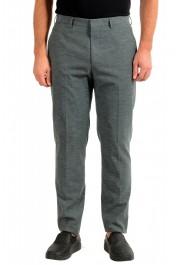 """Hugo Boss Men's """"Pirko2"""" Wool Flat Front Dress Pants"""