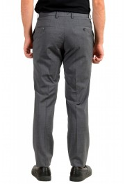 "Hugo Boss Men's ""Genesis4"" Gray Cashmere Wool Flat Front Dress Pants: Picture 3"