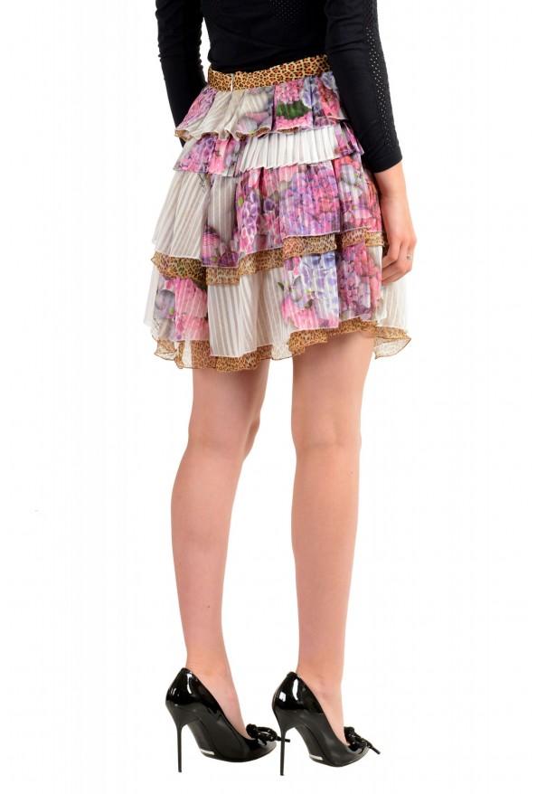 Just Cavalli Women's Multi-Color Ruffled Mini Skirt: Picture 3