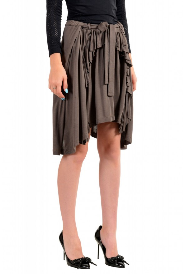 Just Cavalli Women's Asymmetrical Belted Mini Skirt: Picture 2