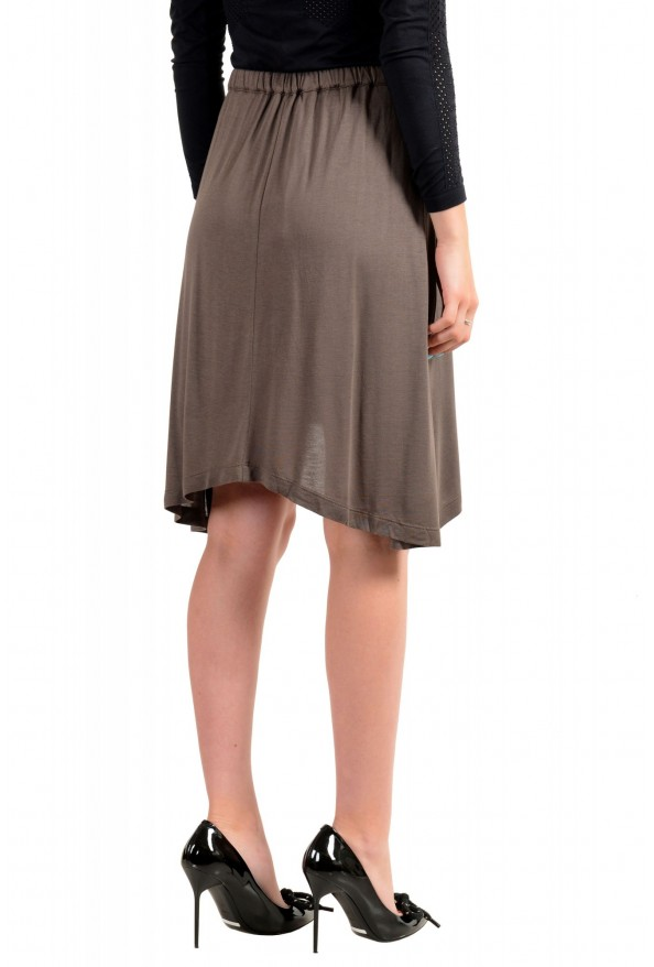 Just Cavalli Women's Asymmetrical Belted Mini Skirt: Picture 3