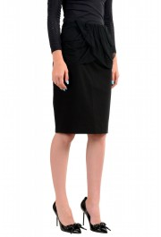 Just Cavalli Women's Black Straight Pencil Skirt: Picture 2