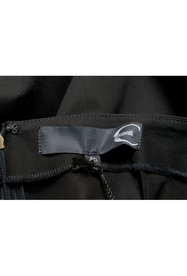 Just Cavalli Women's Black Straight Pencil Skirt: Picture 4