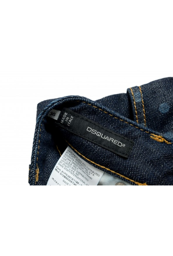 Dsquared2 Women's Dark Blue Denim Pencil Skirt: Picture 4