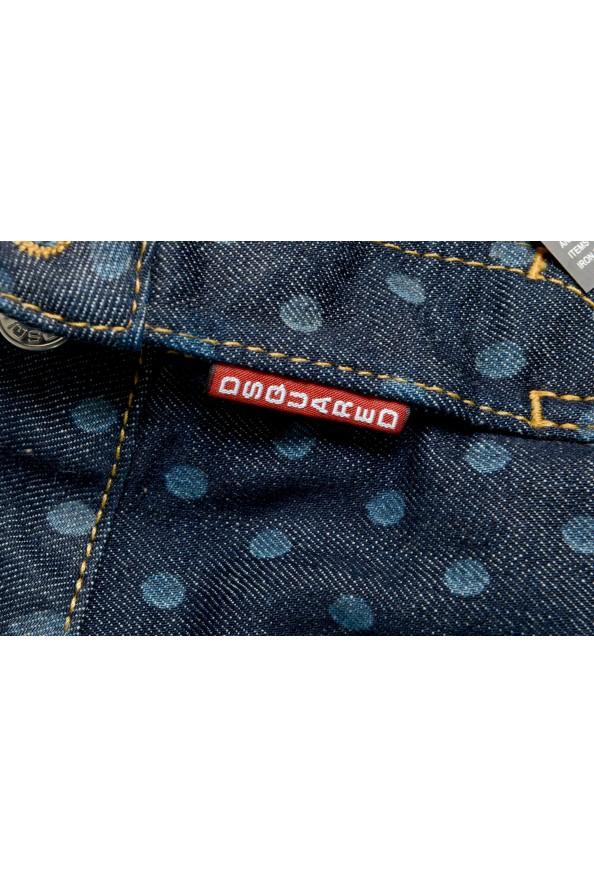 Dsquared2 Women's Dark Blue Denim Pencil Skirt: Picture 5