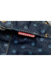 Dsquared2 Women's Dark Blue Denim Pencil Skirt : Picture 5